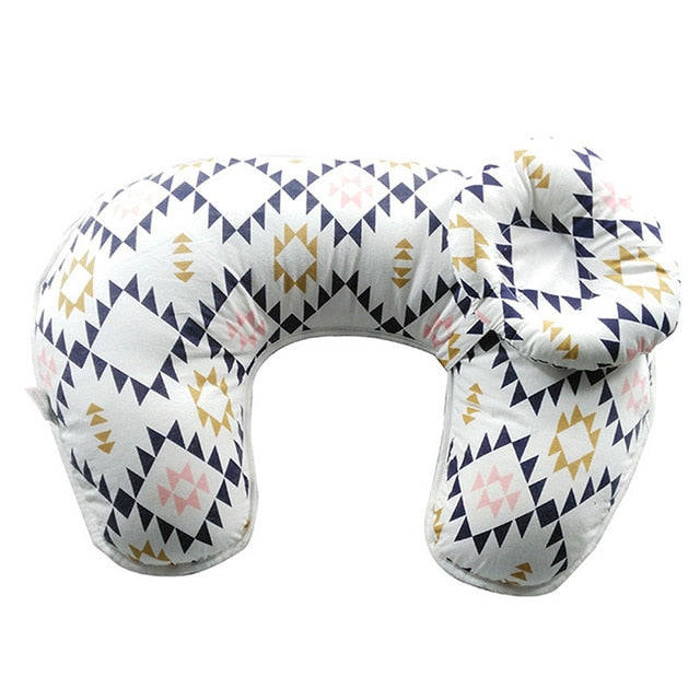 Nursing Pillow With Cushion Head Support