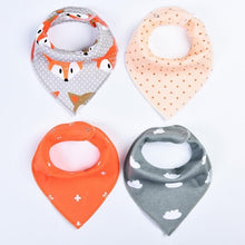 Load image into Gallery viewer, 4Pcs Baby Bibs