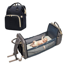 Load image into Gallery viewer, Multi-functional Diaper Bag and Bed