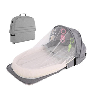 Multi-functional Diaper Bag and Bed