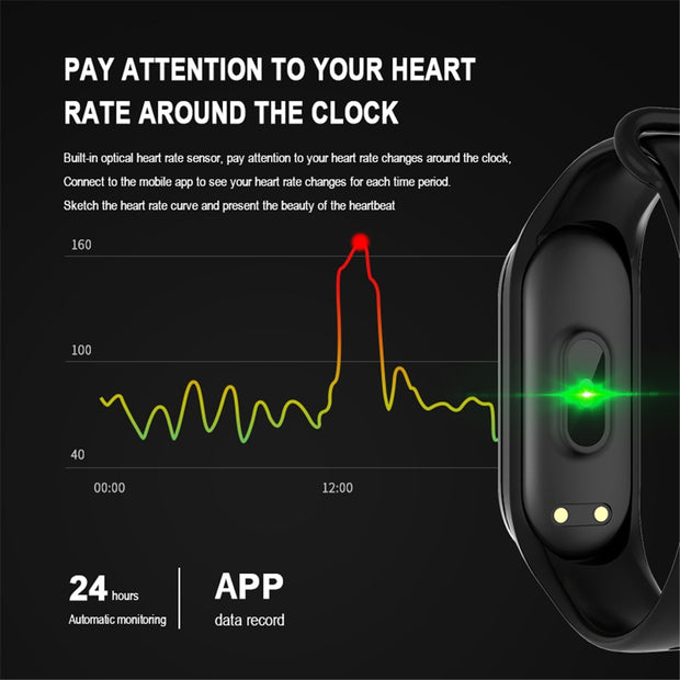 Smart Heart Rate Monitor and Fitness Tracker ( The best price ever!) - Dunter Store