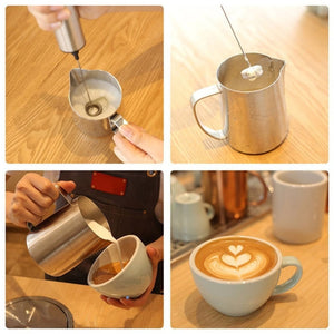 Electric Milk Frother - KitchenTouch