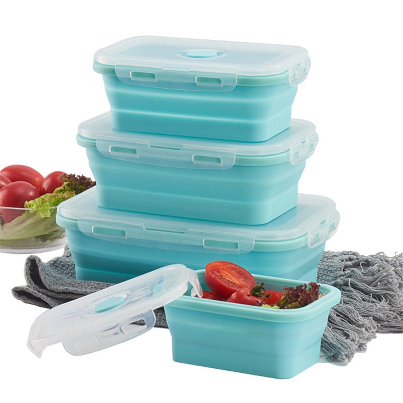 Folding Lunch Box - KitchenTouch