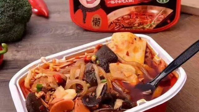 Self-Heating Instant Food Now Popular in China!