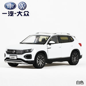 New exploration of tayron SUV alloy simulation 1:18 automobile model