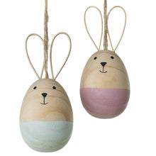 Load image into Gallery viewer, Bunny Ornament (Pink)