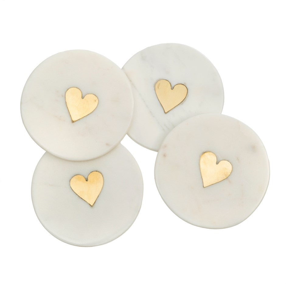 Sweet Heart Coasters (set of 4)