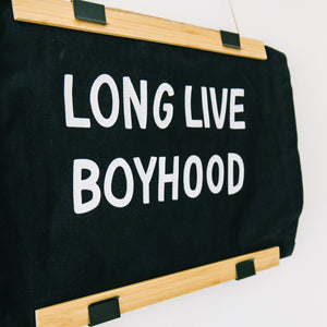 Boyhood Banner (Natural)