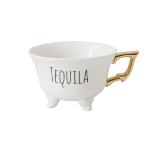 "Footed ""Tequila"" Tea Cup"