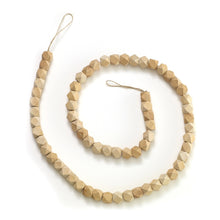 Load image into Gallery viewer, Geometric Wooden Bead Garland