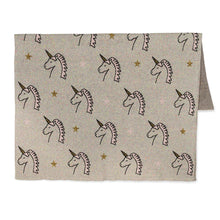 Load image into Gallery viewer, Unicorn Head Mini Throw Blanket