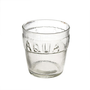 Aqua Drinking Glass (set of 6)