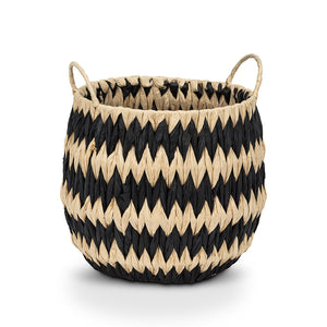 Wide Zigzag Basket (Medium)