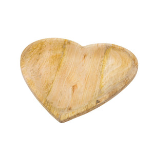 Wild Heart Wooden Plate (Large)