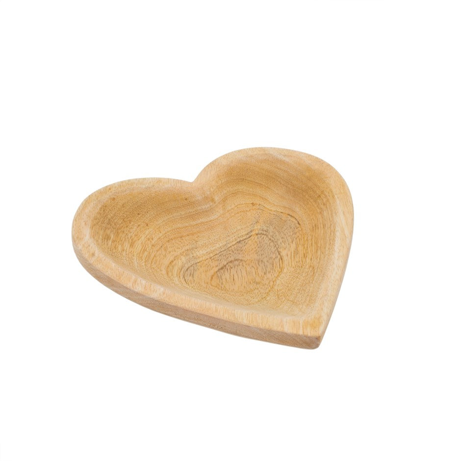 Wild Heart Wooden Plate (Small)