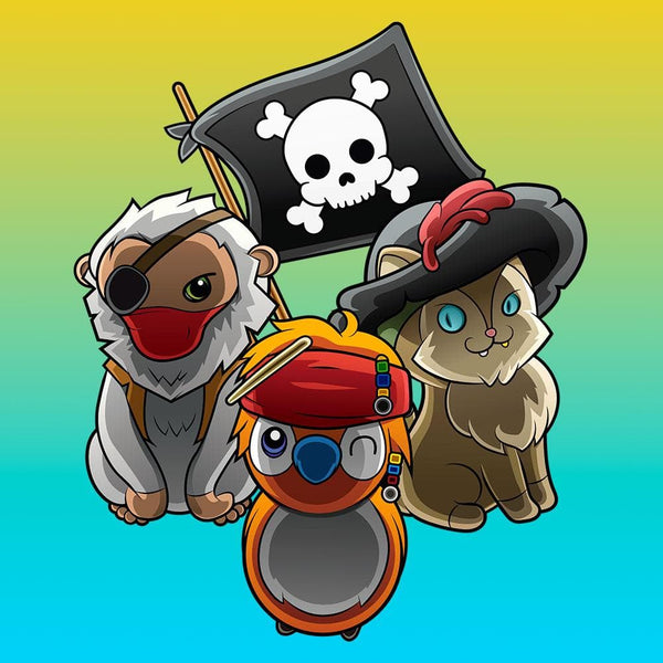 T-shirt - sea of pirates tshirt et accessoire geek gamer otaku