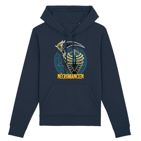 Sweat homme - Nécromancien - Heroes Stuff - fantasy, homme, jeux de rôle, jeux video, marine, mmorpg, noir, sweat