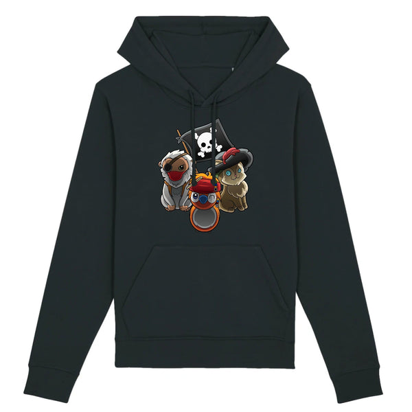 Sweat homme - sea of pirates - Heroes Stuff - animaux, blanc, homme, marine, noir, pop culture, sweat, trop mignon