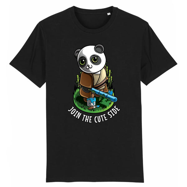 T-shirt BIO homme - join the cute side - Heroes Stuff - animaux, blanc, homme, marine, noir, T-shirt, trop mignon