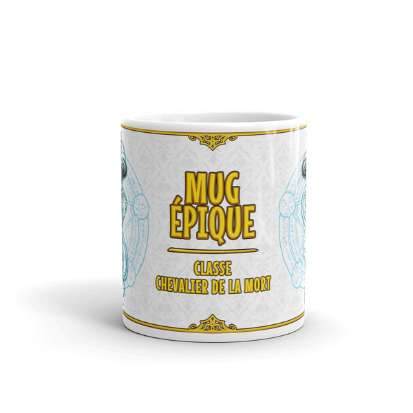 Mug - chevalier de la mort articles geek gamer mmorpg fantasy