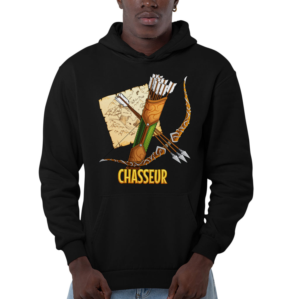 Sweat BIO homme - Classe Chasseur articles geek gamer mmorpg fantasy