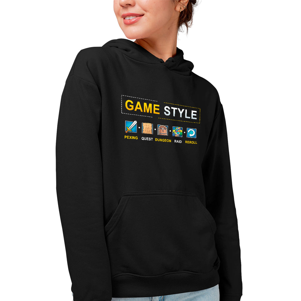 Sweat BIO femme - Game style - MMORPG articles geek gamer mmorpg fantasy