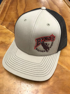 Byrd's Western Store Tan/Chocolate Logo Cap