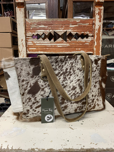 Myra Hair On Cowhide Purse