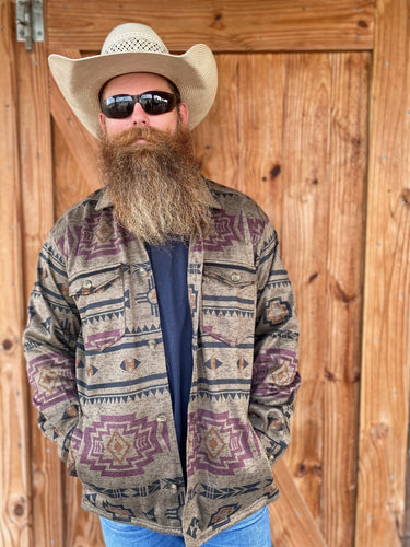 Ariat Hatcher Men's Printed Sweater Fleece