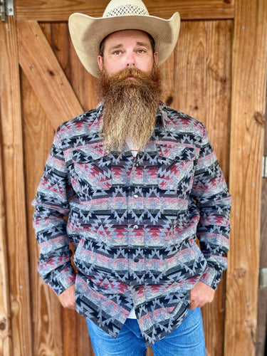 Rock & Roll Men's Woven Over Shirt