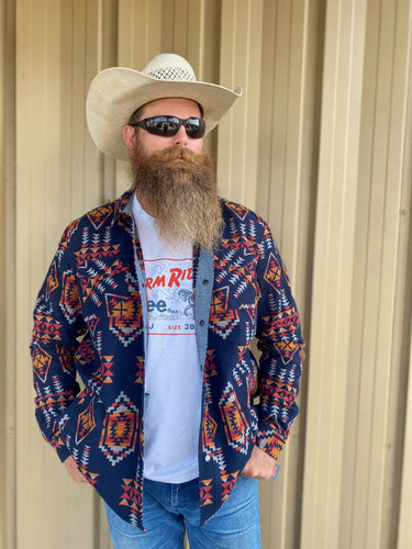 Rock & Roll Cowboy South West Shirt Jacket