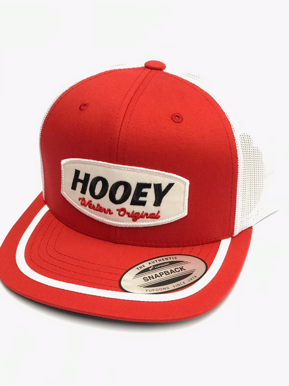 Hooey Galveston Red White Ball Cap