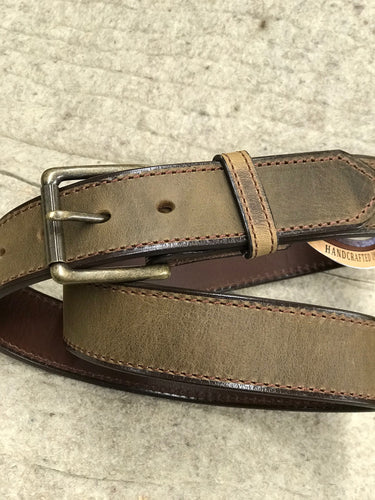 Gingerich Apache Leather Belt