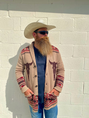 Cowboy Cardigan Sweater by Rock N Roll Cowboy