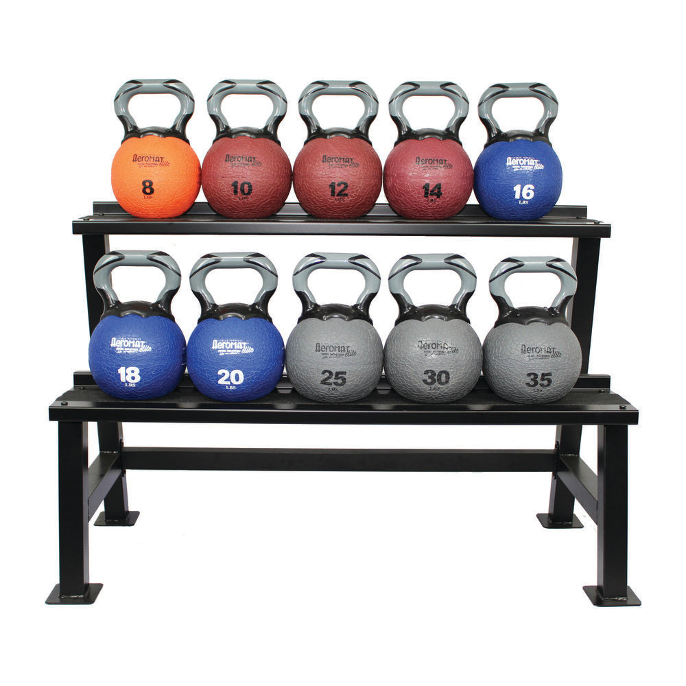 Kettlebell Medicine Ball Rack 2-Layer