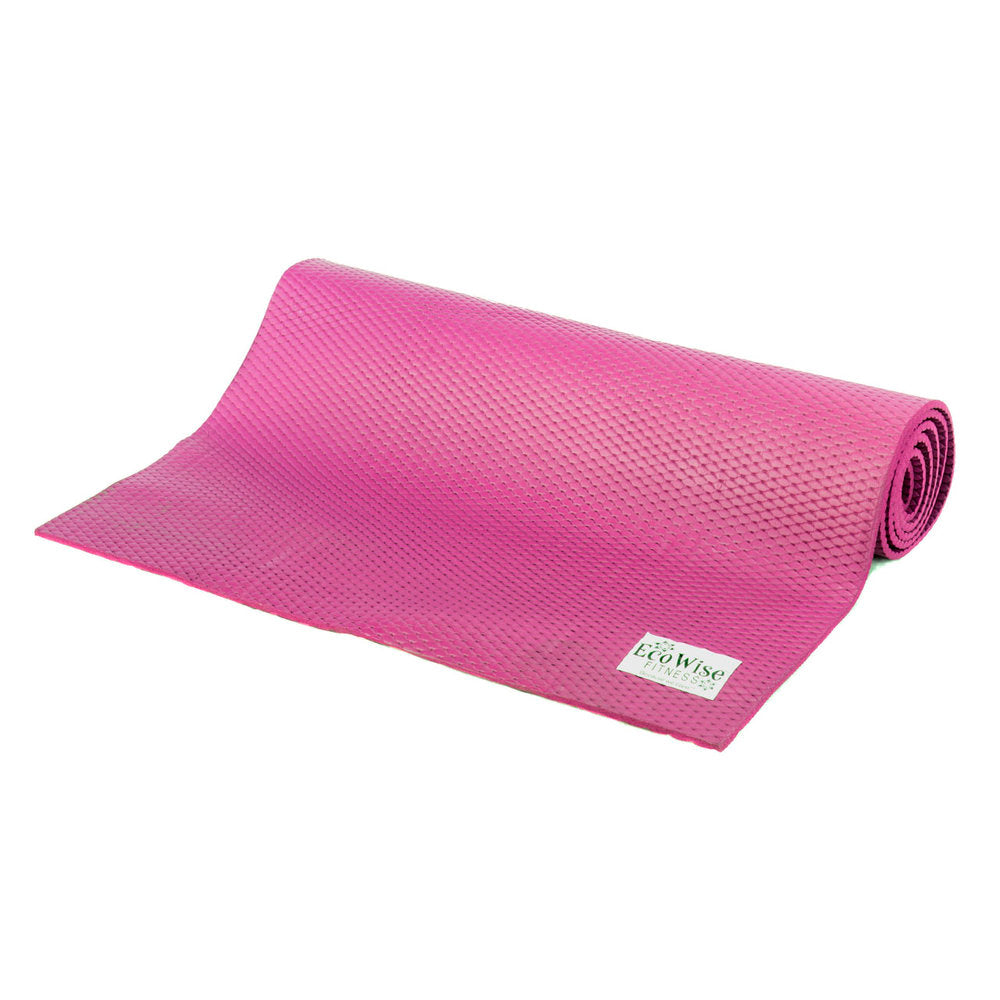 EcoWise Essential Yoga / Pilates Mat 1/4'' thick (Sale)