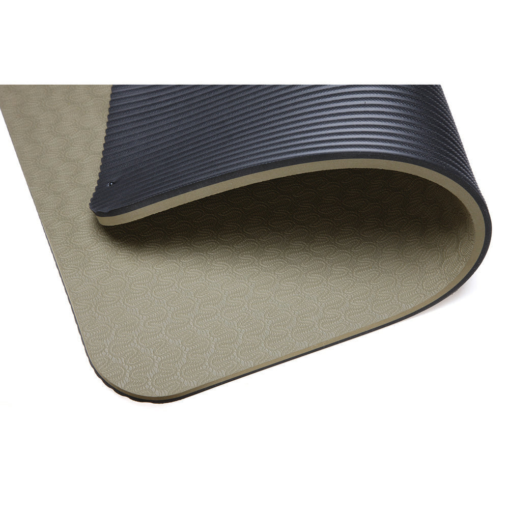"EcoWise Dual Surface Workout Mat 1/2"" thick"