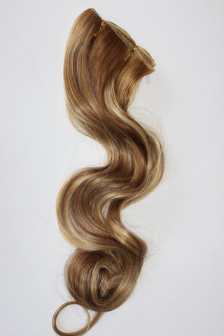 "24 Inch ""Deluxe"" Wefting - Tri-Color Blonde"