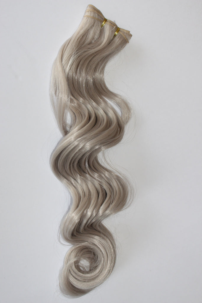"24 Inch ""Deluxe"" Wefting - Silver Grey"