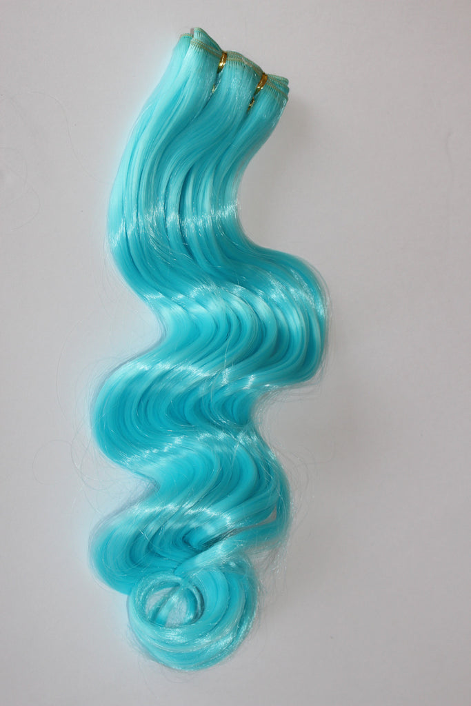 "24 Inch ""Deluxe"" Wefting - Teal"