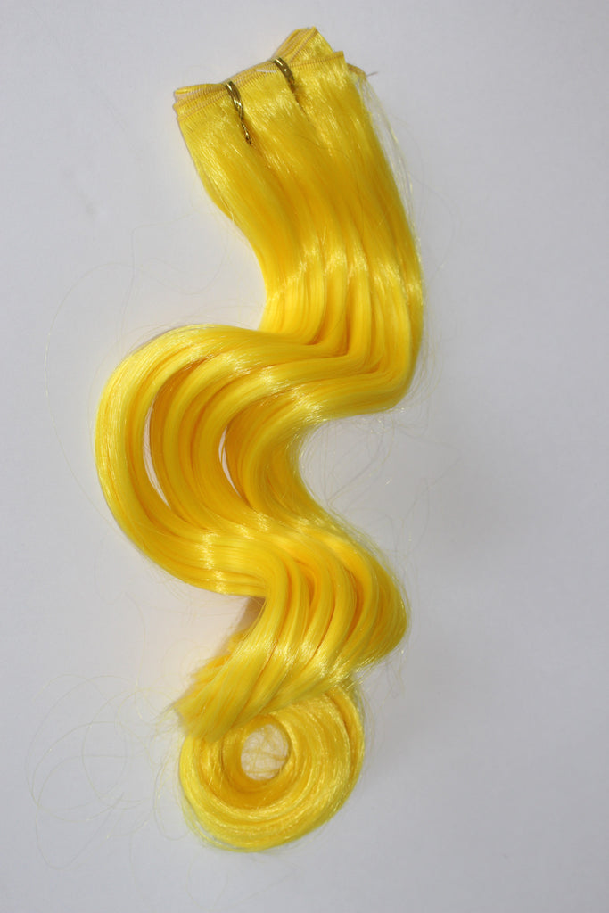 "24 Inch ""Deluxe"" Wefting - Yellow"