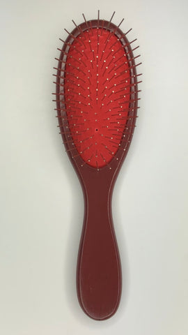 Wire Wig Brush - Wooden Handle