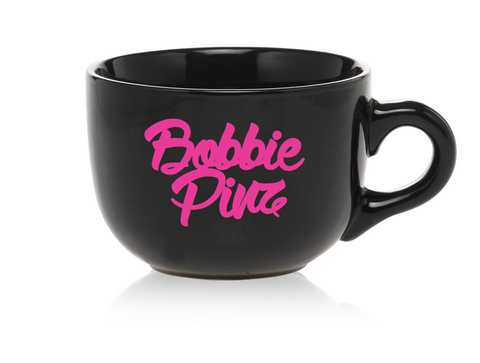 """BobbiePinz"" Logo Jumbo Coffee Mug"
