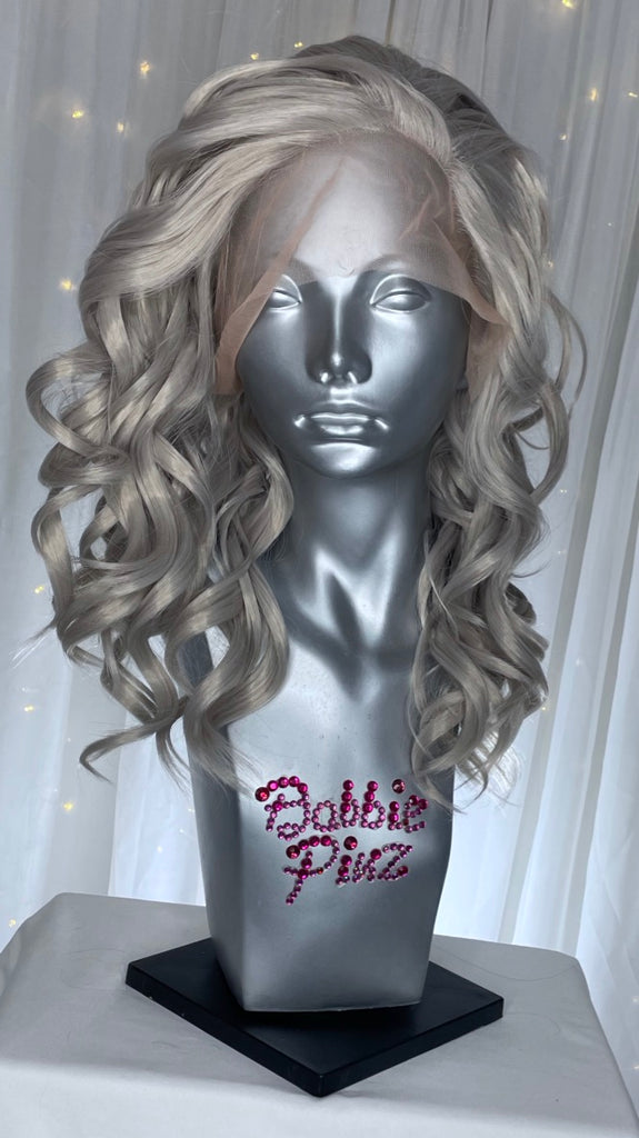 """Carrie"" - Silver Grey"