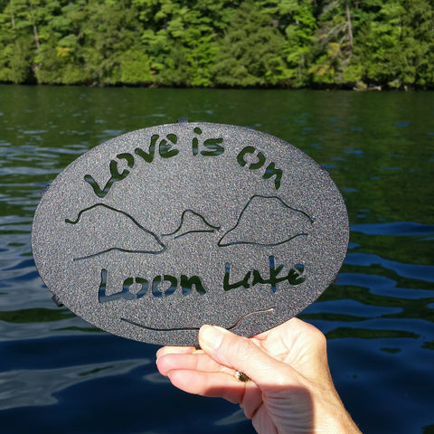 Loon Lake Painted Trivet