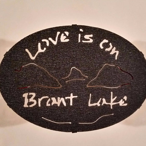 Brant Lake Painted Trivet