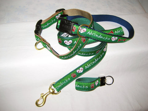 Adirondacks Ribbon Key Ring