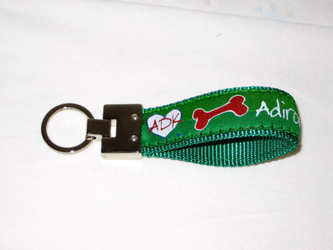 Adirondacks Ribbon Key Chain