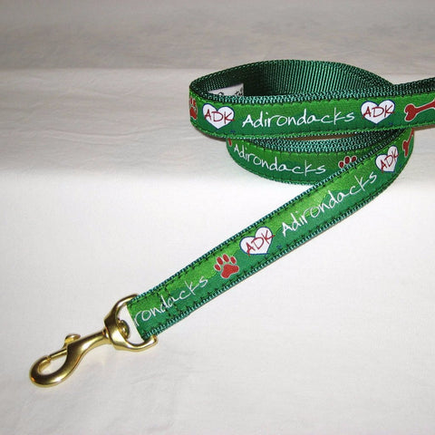 Adirondack Dog Leash from Love is in the Adirondacks