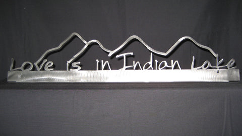 Indian Lake Stainless Shelf-Sitter